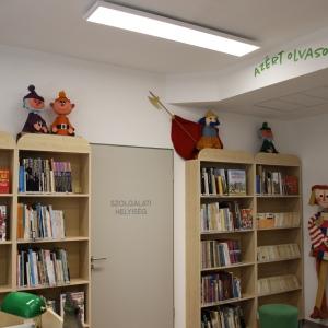 Megújult a könyvtár Hatvanban