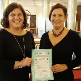 Elismerés a Gödöllői Városi Könyvtár és Információs Központnak