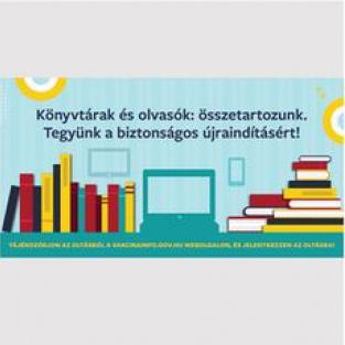 Könyvtárak és olvasók: összetartozunk – a nemzeti könyvtár és az országos könyvtárszakmai szervezetek oltásregisztrációs felhívása